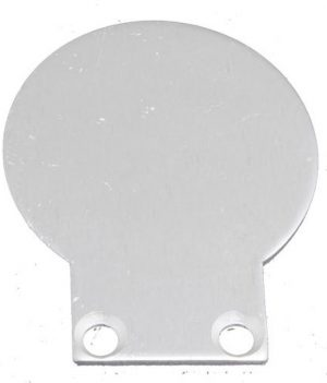 2 x LED profiel eindkapjes inclusief schroeven PL9 Spica