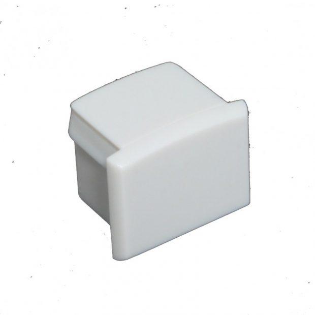 Eindkap voor LED Strip profiel zonder kabeldoorvoer PL2 - Grijs