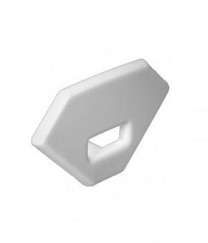 Eindkap voor LED Strip profielen met kabeldoorvoer PL11