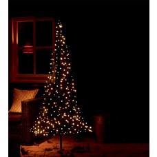 kerstboom met verlichting 250 leds 185 cm