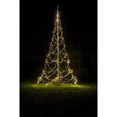 Kerstboom met verlichting 720 leds 600 cm