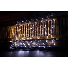 Kerstverlichting hangend voor binnen & buiten 2 x 1,5 meter wit