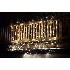 Kerstverlichting hangend voor binnen & buiten 2 x 3 meter warm wit