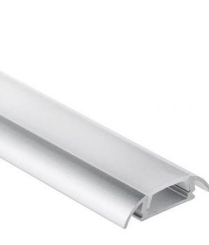 LED strip opbouw profiel 2 meter met afdekking P17