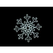 Led sneeuwvlokken verlichting koel wit 85 meter LED lampjes waterdicht