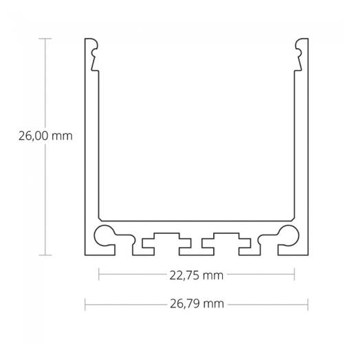 led profiel 24mm
