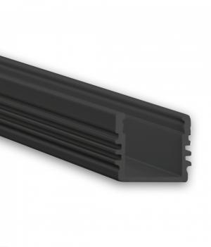 led-profiel-zwart-2meter