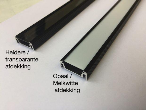 led profiel zwart philips hue