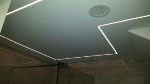 led strips badkamer plafondprofiel 1