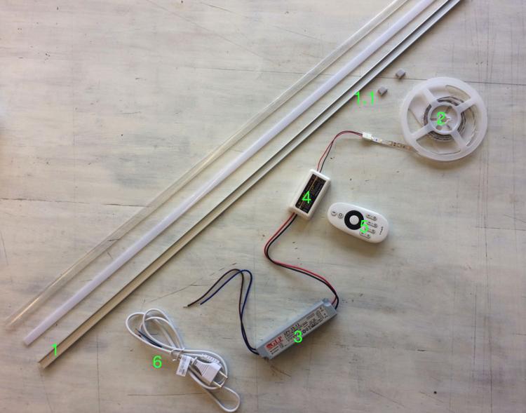 LED strips voor uw Douche - Gratis levering in NL & BE