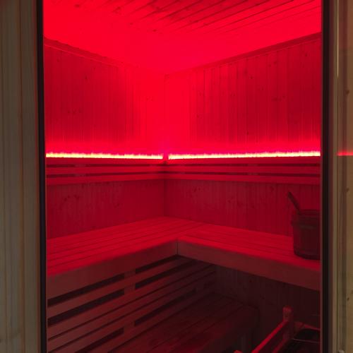 led verlichting sauna