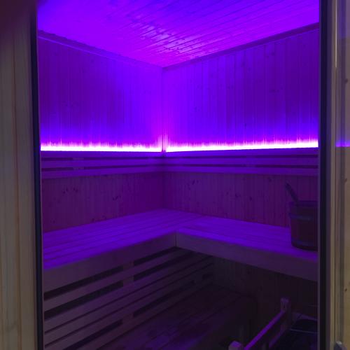 led verlichting saunas