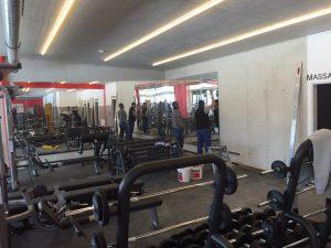 led verlichting sportschool