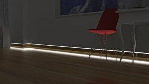 led strips voor uw plinten gratis levering in nl be. Black Bedroom Furniture Sets. Home Design Ideas