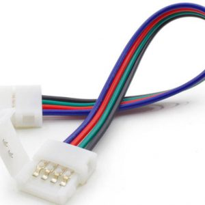 rgb-led-strip-connectie