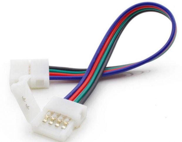 rgb-led-strip-connectie