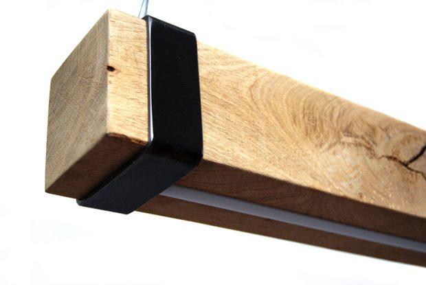hanglamp eikenhouten balken