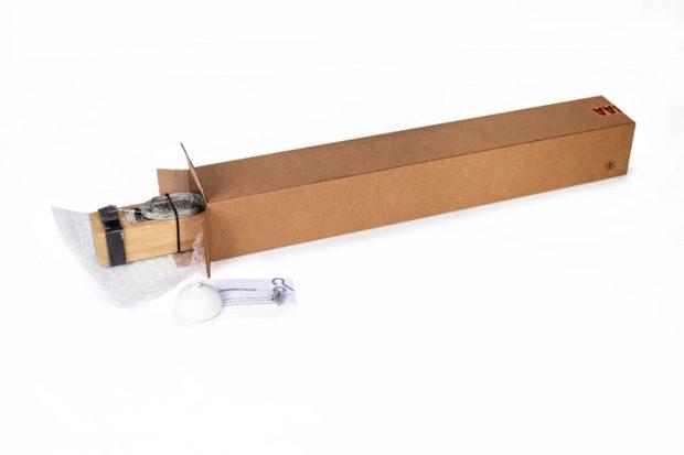 hanglamp led houten balk