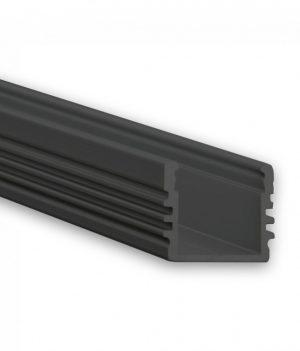 zwart led profiel