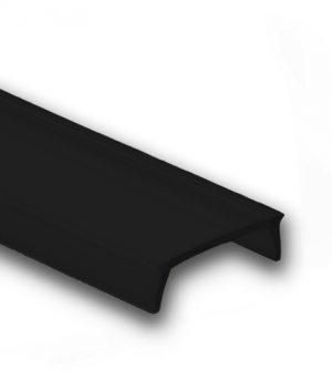 zwart led profiel afdekking 1