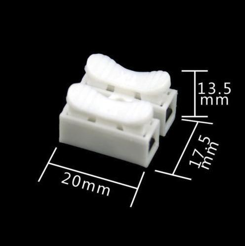 led strip connectie blokje