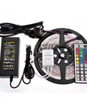 LED Strip RGB 5 Meter Complete Draadloze Set U2013 Aanbieding