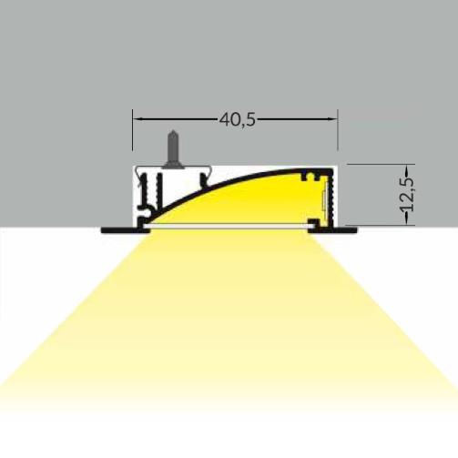 gyproc led strip profiel