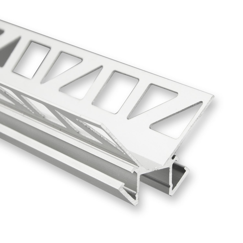 Verbazingwekkend LED strip tegel profiel 2,5 meter P18 – Grijs - Aluminium - LED LY-78