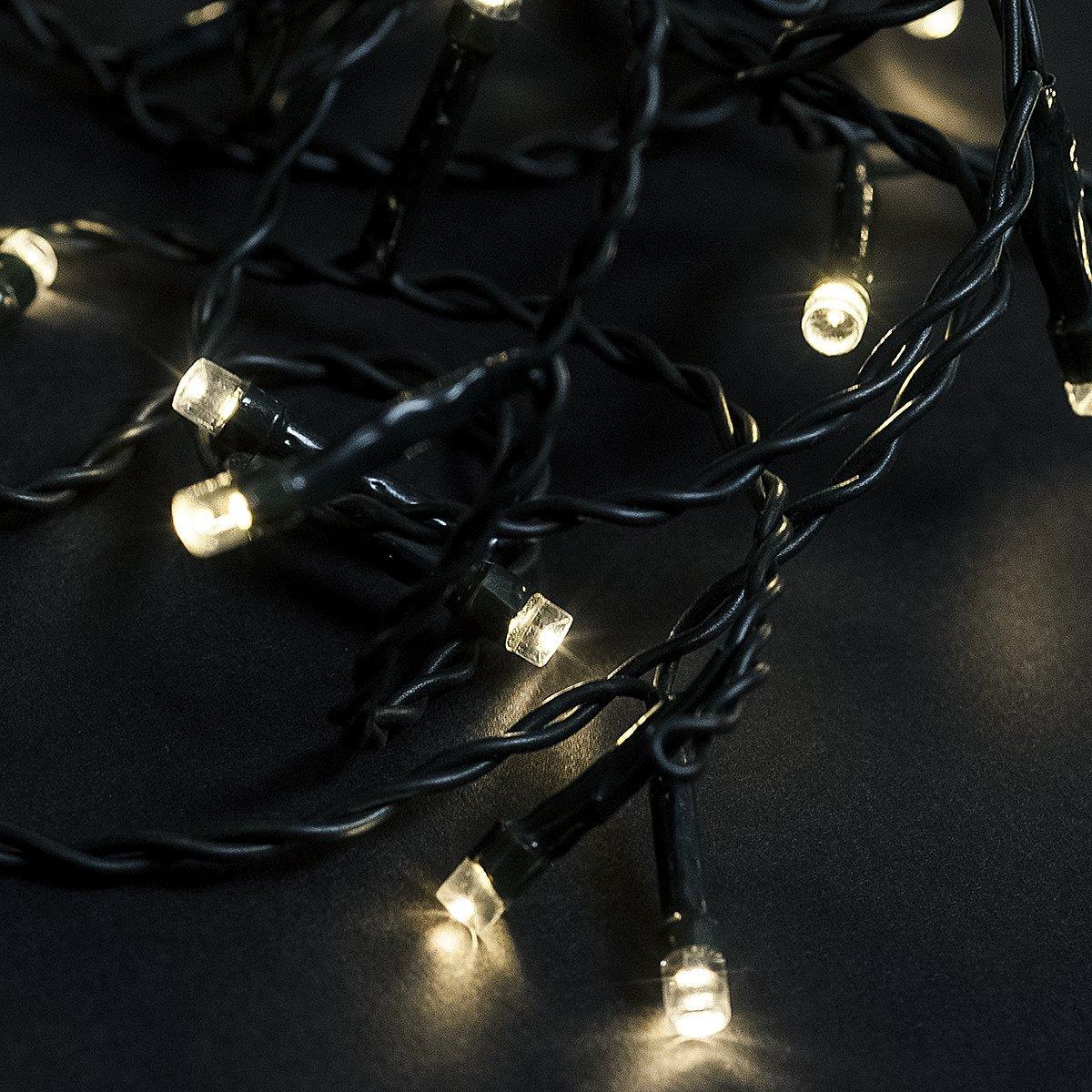 Kerstverlichting Warm Wit Met 8 Lichtstanden Mobiele App 240 Led