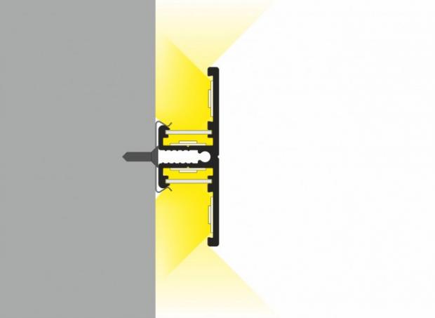 muurprofiel voor led strips
