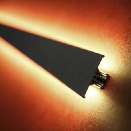 LED profiel voor licht naar boven en naar beneden oftewel een updown LED profiel