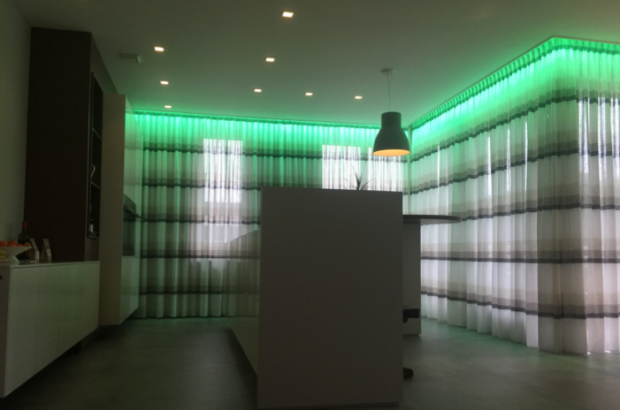 rgbw led strip groen