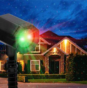 laserprojecter kerstverlichting