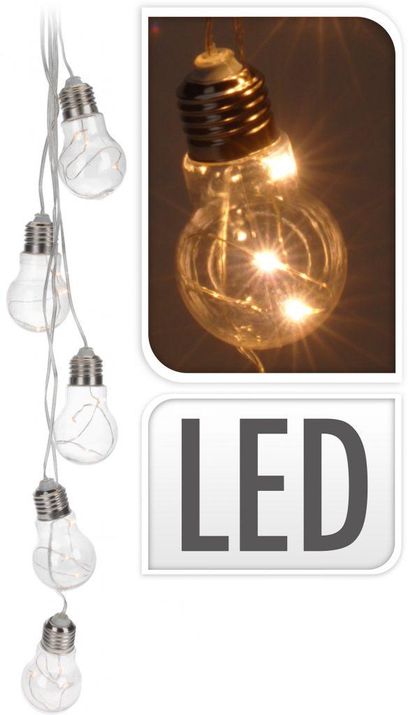 LED Gloeilamp partyverlichting - 15 LED decoratieve verlichting op ...