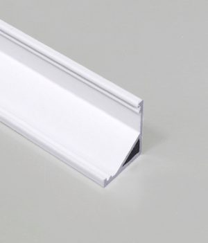 hoek led profiel wit