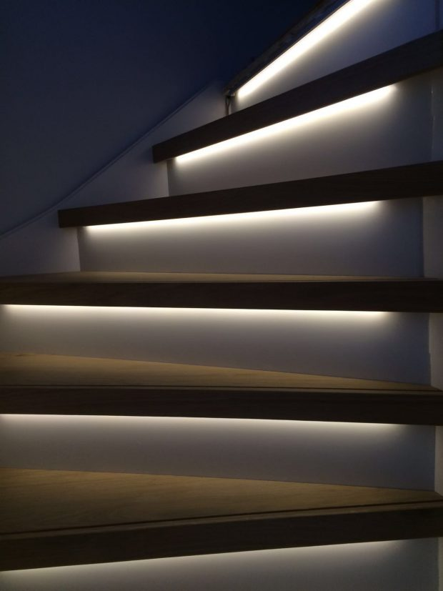 led strip profiel voor trappen