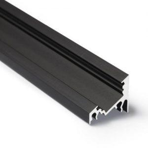 led hoek profiel breed zwart 1