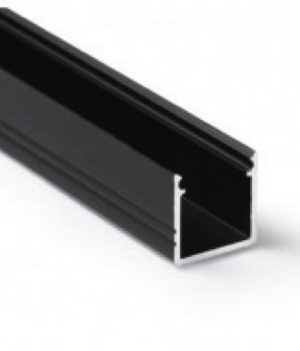 led profiel 10mm zwart 1