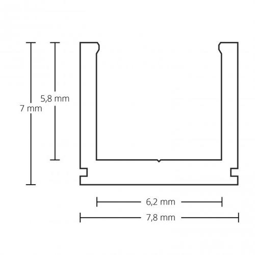 led profiel 6mm