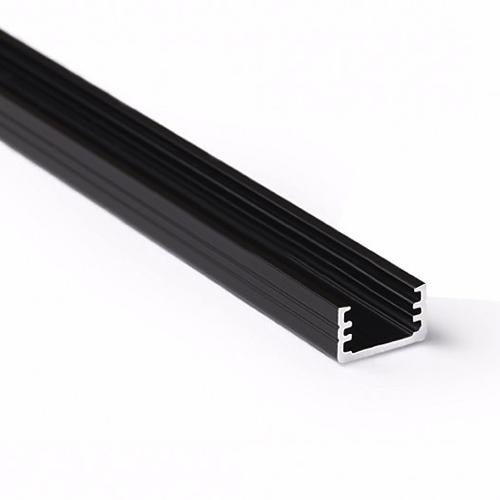 led profiel 8mm zwart
