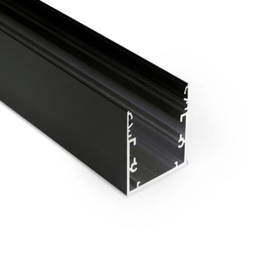 led profiel zwart 5cm