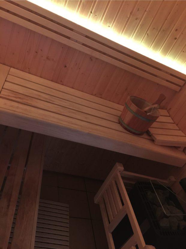 led sauna kleuren strips