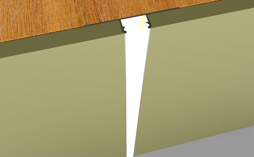 LED strips voor gipsplaten met LED gipsplaat profielen