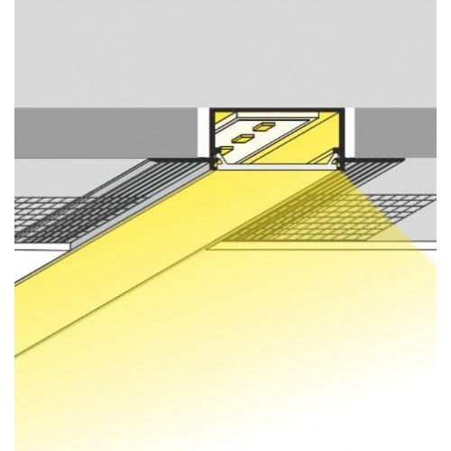 breed inbouw led profiel 30mm