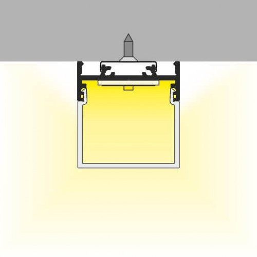 led profiel 3cm vierkant