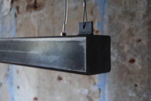 metalen balk hanglamp led design