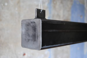 metalen balk hanglamp led ophangsysteem
