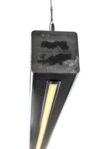 metalen balk hanglamp led strip