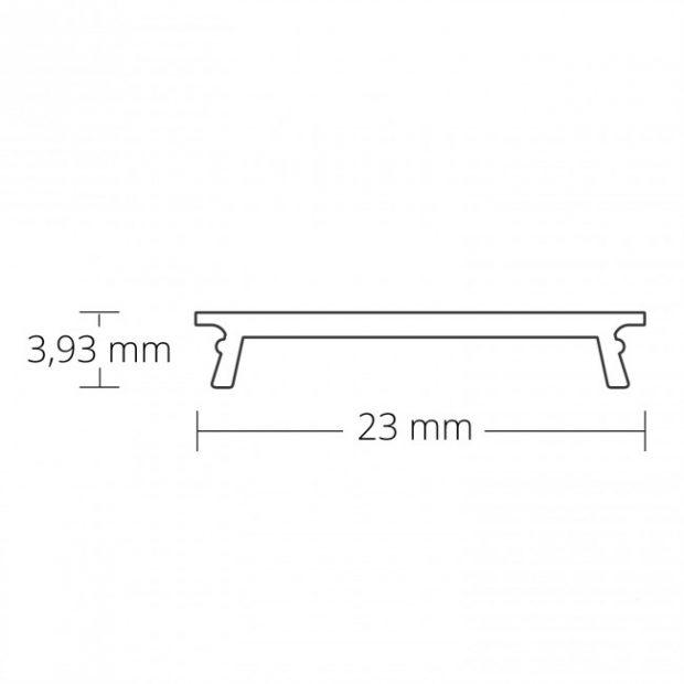 3cm breed inbouw led profielen