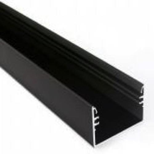 50mmbreed led profiel zwart